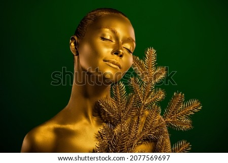 Zacht model body art geïsoleerd Stockfoto © deandrobot