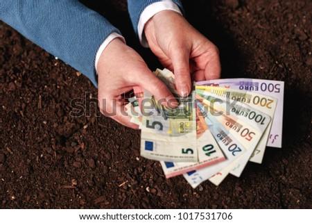 банка заем сельскохозяйственный деятельность евро Сток-фото © stevanovicigor