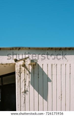 Schoolyard CCTV closed circuit camera for protection Stock photo © stevanovicigor
