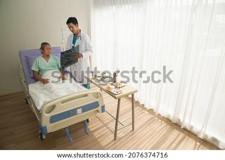 Cirujanos Xray paciente operación teatro Foto stock © wavebreak_media
