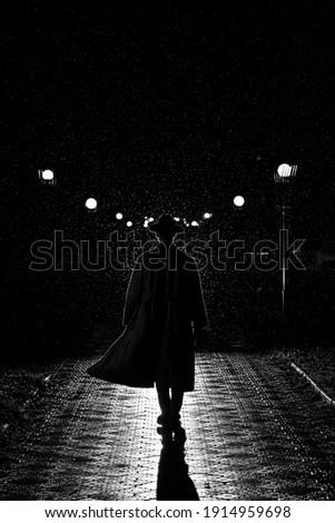 Adam tabanca gangster odak suç erkek Stok fotoğraf © michaklootwijk