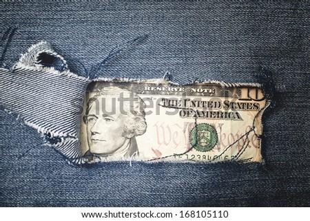 Veinte dólares proyecto de ley desgarrado textura Foto stock © stevanovicigor