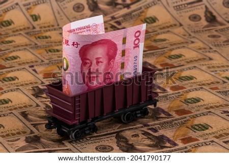 Vasút vagon pénz piros dollár bankjegyek Stock fotó © CaptureLight