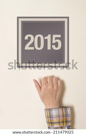 mano · puerta · femenino · imagen · oficina - foto stock © stevanovicigor