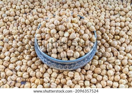 豆 · 孤立した · 白 · ボウル · ダイエット - ストックフォト © lucielang