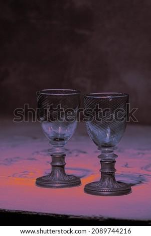 натюрморт · металл · вино · фон · шаблон - Сток-фото © geniuskp