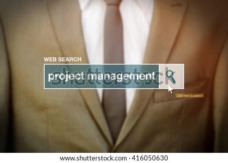 ウェブ 検索 バー プロジェクト 管理 定義 ストックフォト © stevanovicigor