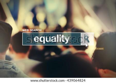 equality   web search bar glossary term stock photo © stevanovicigor