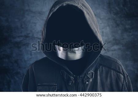 検閲 · 男 · 口 · 成人 · 白人 - ストックフォト © stevanovicigor