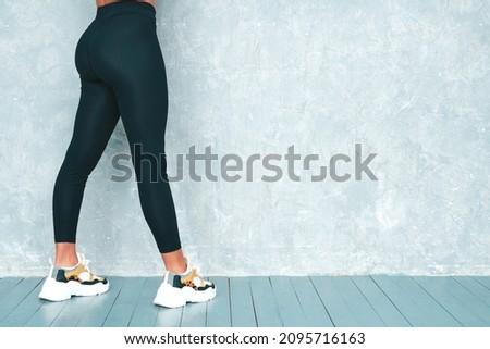 красивой сексуальная женщина идеальный ягодицы спортзал Sexy Girl Сток-фото © restyler