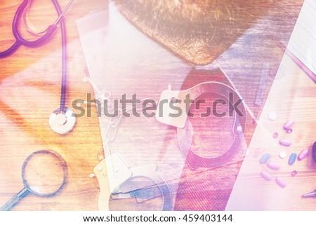 Corrupción salud industria imagen general médicos Foto stock © stevanovicigor