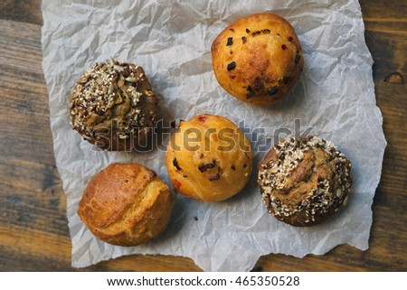 Homemade salty muffins, also called proja pie Stock photo © stevanovicigor