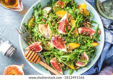 Foto stock: Frescos · casero · ensalada · naturales · ingredientes · orgánico