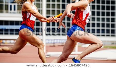 atléta · futó · fut · siker · fitt · férfi - stock fotó © jossdiim