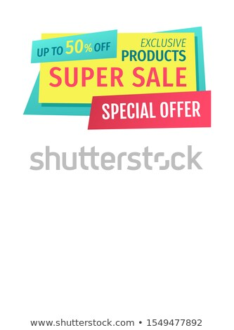 Advertising or Promotion Squeeze or Landing Page Stock photo © robuart