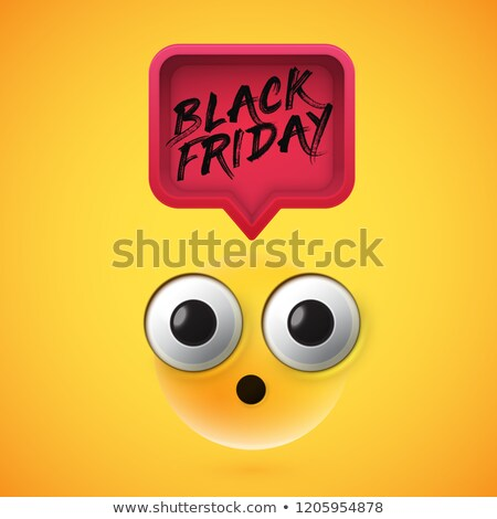 Jaune black friday vente bannière proposer détails Photo stock © SArts