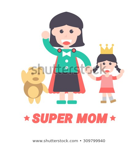Super Hero Minimal Infographic Banner Vector Stock photo © pikepicture