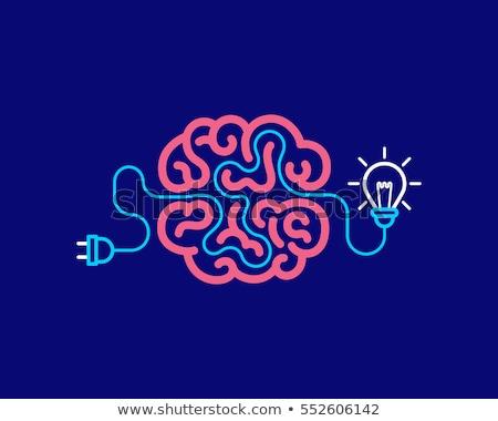 Innovador pensando vector metáfora negocios idea Foto stock © RAStudio
