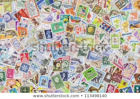 stamp collection from germany stock photo © cienpies
