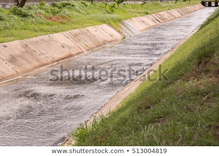 Faible irrigation canal nature Photo stock © boggy