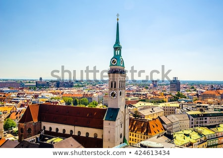 教会 ミュンヘン ドイツ ローマ カトリック教徒 インナー ストックフォト © borisb17
