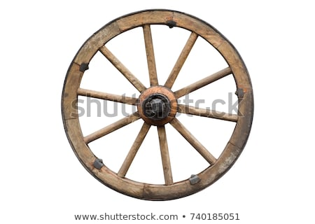 Old Wagonwheel Stock photo © bobkeenan