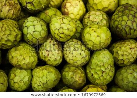 Madeira meyve pazar taze yeşil tarım Stok fotoğraf © boggy