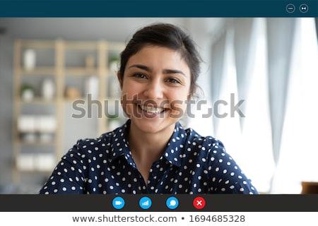 Entrevista trabalho mulheres candidato entrevista de emprego Foto stock © snowing