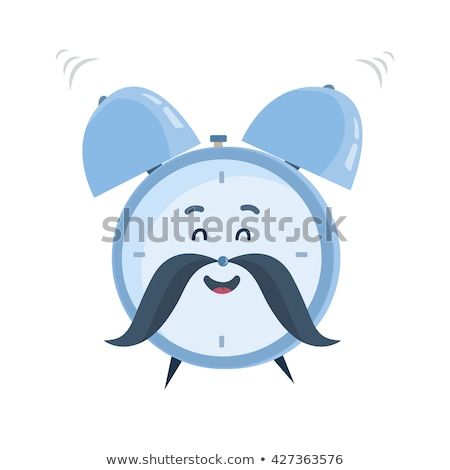 Classic alarm clock with smiley face  stock photo © adrian_n