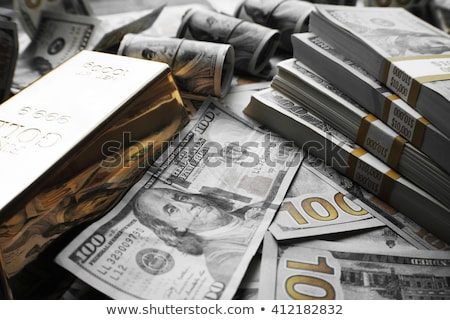 Powerful gold dollar Stock photo © Elenarts