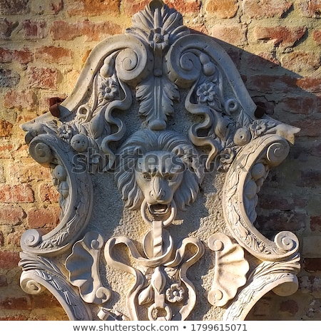 shields  ancient with lion Stock photo © kjolak