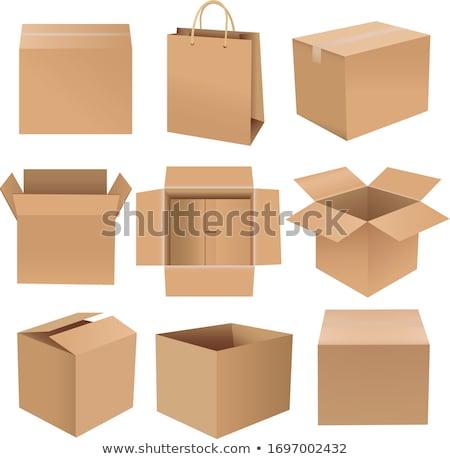 vazio · carrinho · de · compras · ilustração · branco · negócio · compras - foto stock © adamson