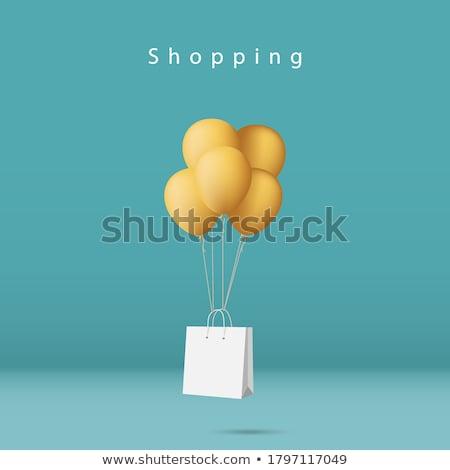 vazio · carrinho · de · compras · ilustração · branco · negócio · compras - foto stock © oblachko
