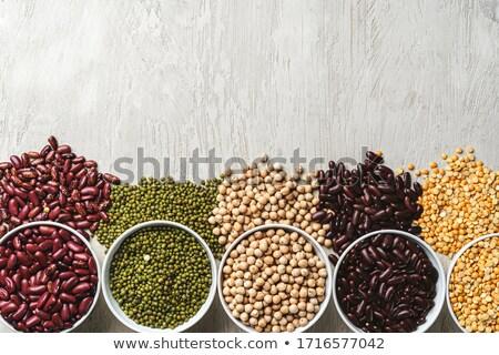 Beans assortment Stock photo © REDPIXEL