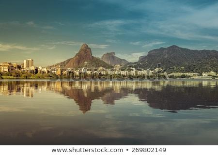 Város Rio de Janeiro Brazília ünnep turista díszlet Stock fotó © epstock