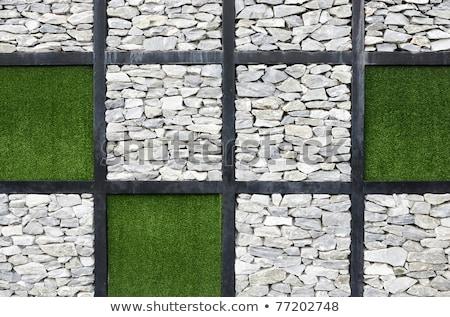 Nowoczesne sztuki ściany międzynarodowych ogród wystawa Zdjęcia stock © rufous