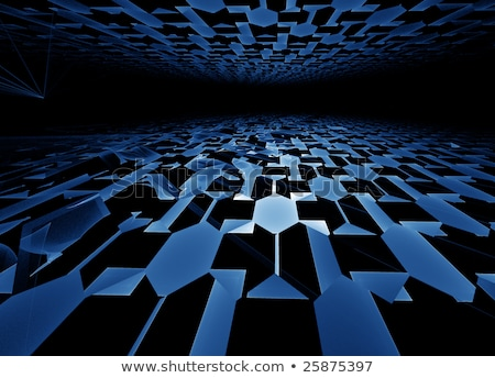синий горизонте аннотация Сток-фото © Artida