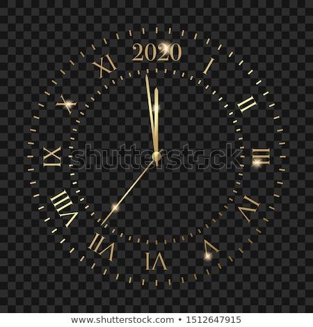 Golden Clock Stock photo © blanaru