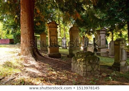 antica · cimitero · morte · morti · Europa · marmo - foto d'archivio © prill