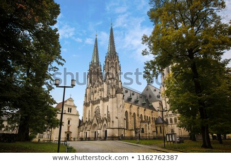 Saint Wenceslas Cathedral in Olomouc Stock photo © frank11