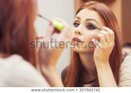 Femme maquillage miroir modèle portrait Photo stock © photography33