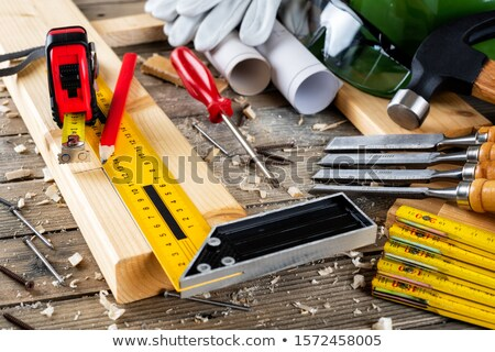 craftsman working with a level Stock photo © photography33