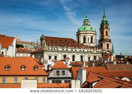 домах · святой · Церкви · города · Прага · Чешская · республика - Сток-фото © tannjuska