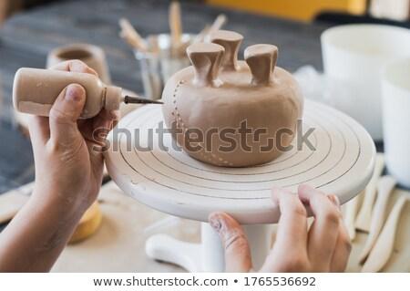 Pottery handicraft Stock photo © vak8888