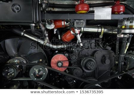 bus engine Stock photo © goce