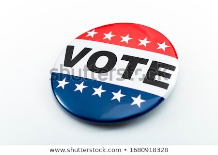 голосования голосование окна зеленый доске вечеринка Сток-фото © stevanovicigor