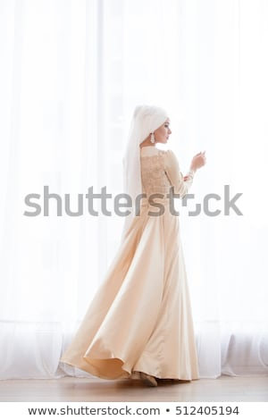 bride near window Stock photo © ssuaphoto