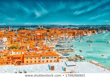 panoramic overview of venice stock photo © andreykr