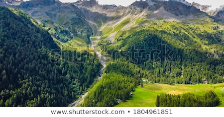 Stock photo: Pejo valley