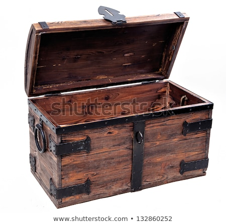 empty treasure chest stock photo © thomasamby